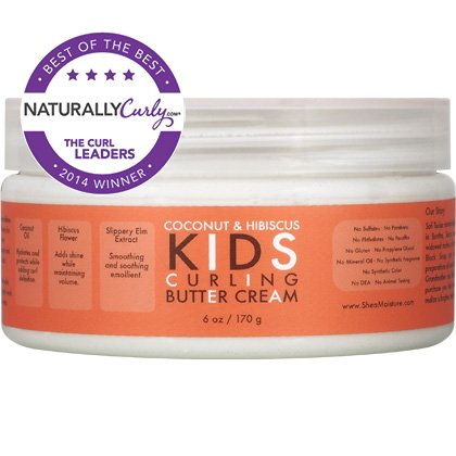 SheaMoisture Coconut Hibiscus Kids Curling Butter Cream