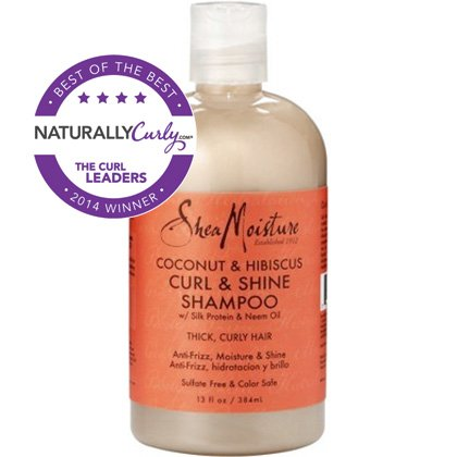 SheaMoisture Coconut Hibiscus Curl Shine Shampoo