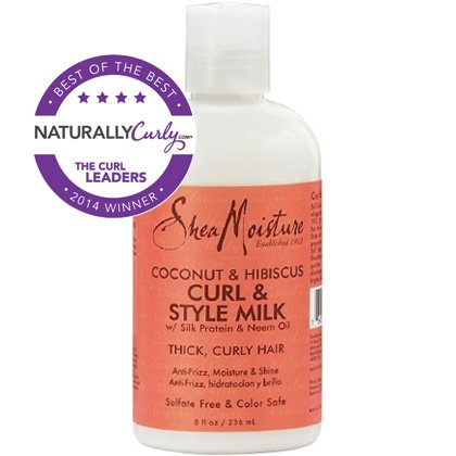 SheaMoisture Coconut Hibiscus Curl Style Milk