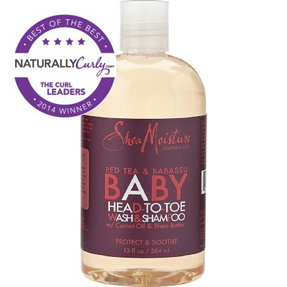 SheaMoisture Red Bush Babassu Baby Wash Shampoo