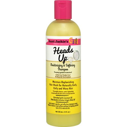 Aunt Jackies Girls Heads Up Moisturizing Shampoo