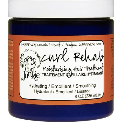 Curl Junkie Curl Rehab Moisturizing Hair Treatment