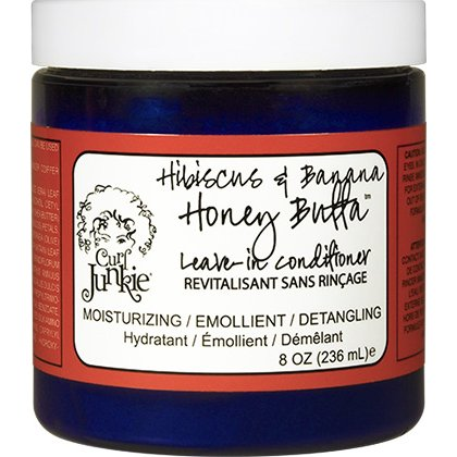 Curl Junkie Hibiscus Banana Honey Leave In