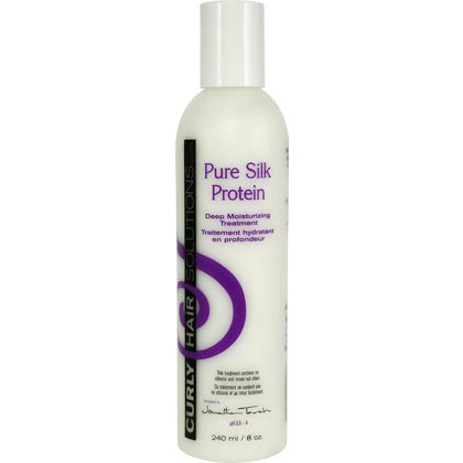 Curly Hair Solutions Pure Silk Protein Deep Moisturizing Treatment