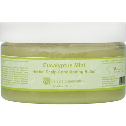 Darcys Botanicals Eucalyptus Mint Herbal Scalp Conditioning Butter