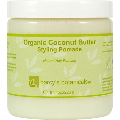 Darcys Botanicals Organic Coconut Butter Styling Pomade