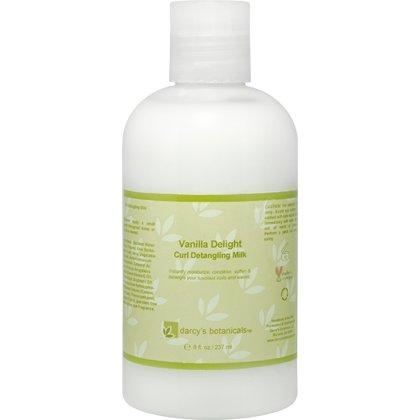 Darcys Botanicals Vanilla Delight Curl Detangling Milk