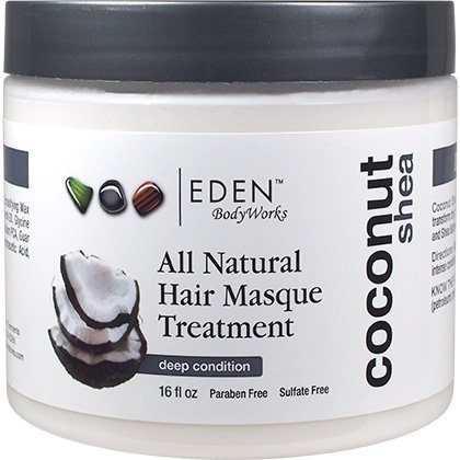 Eden Bodyworks Coconut Shea All Natural Hair Masque 2