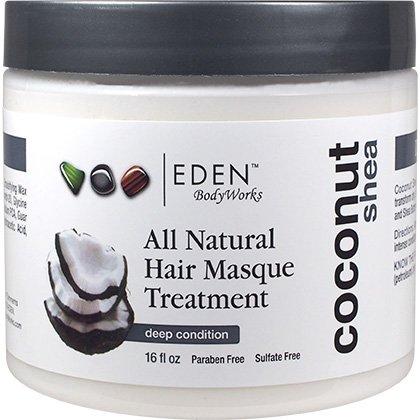 Eden Bodyworks Coconut Shea All Natural Hair Masque 2