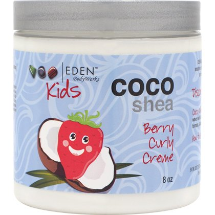 Eden Bodyworks Kids Coco Shea Berry Natural Curly Creme