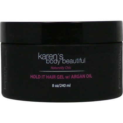 Karens Body Beautiful Hold It Hair Gel W Argan Oil