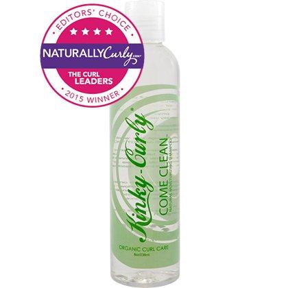 Kinky Curly Come Clean Moisturizing Shampoo