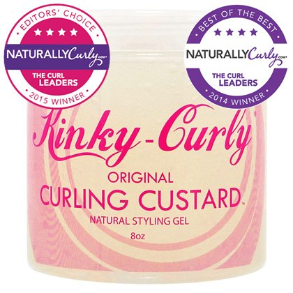 Kinky Curly Curling Custard