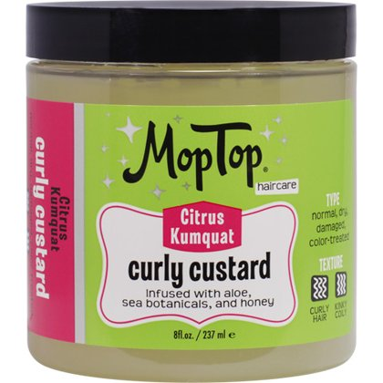 Mop Top Curly Custard