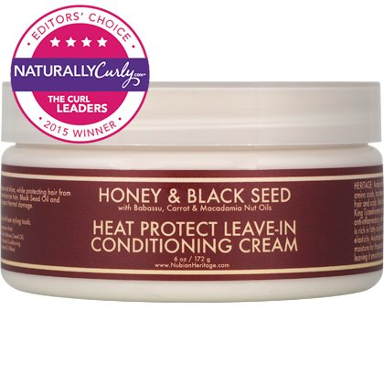 Nubian Heritage Honey Black Seed Heat Protect Leave In Conditioning Cream