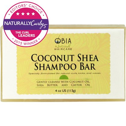 Obia Natural Hair Care Coconut Shea Shampoo Bar