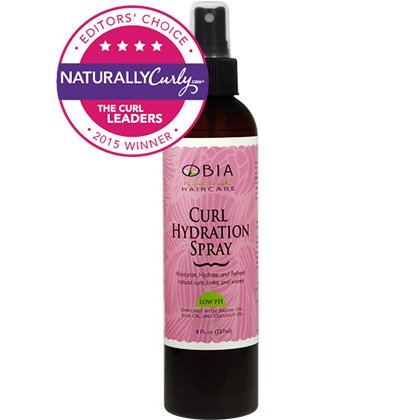 Obia Natural Hair Care Curl Hydration Spray