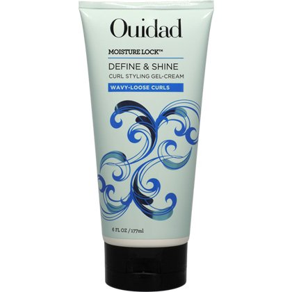 Ouidad Moisture Lock Define Shine Curl Styling Gel Cream