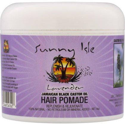 Sunny Isle Jamaican Black Castor Oil Lavender Hair Pomade